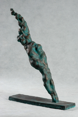 "Click here to view a larger image of ""In Xiaonan's Cloud Style"" and purchase details for this contemporary Chinese sculpture"