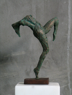 "Click here to view a larger image of ""Joyful Abandon"" and purchase details for this contemporary Chinese sculpture"